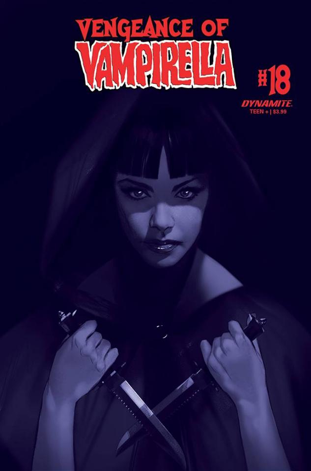 Vengeance of Vampirella #18 (40 Copy Oliver Tint Cover)