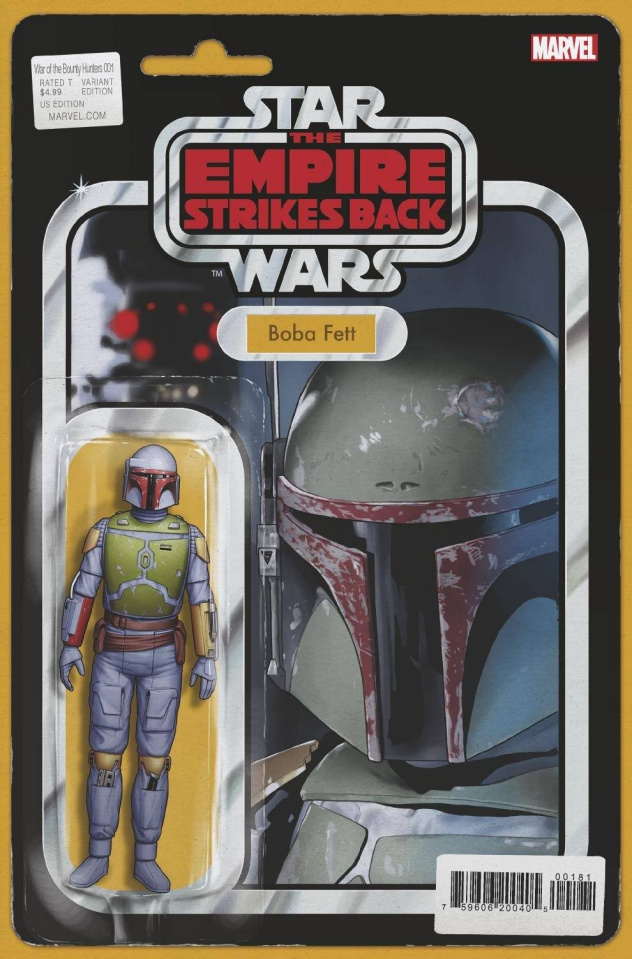 Star Wars: War of the Bounty Hunters #1 (Action Figure Cover)
