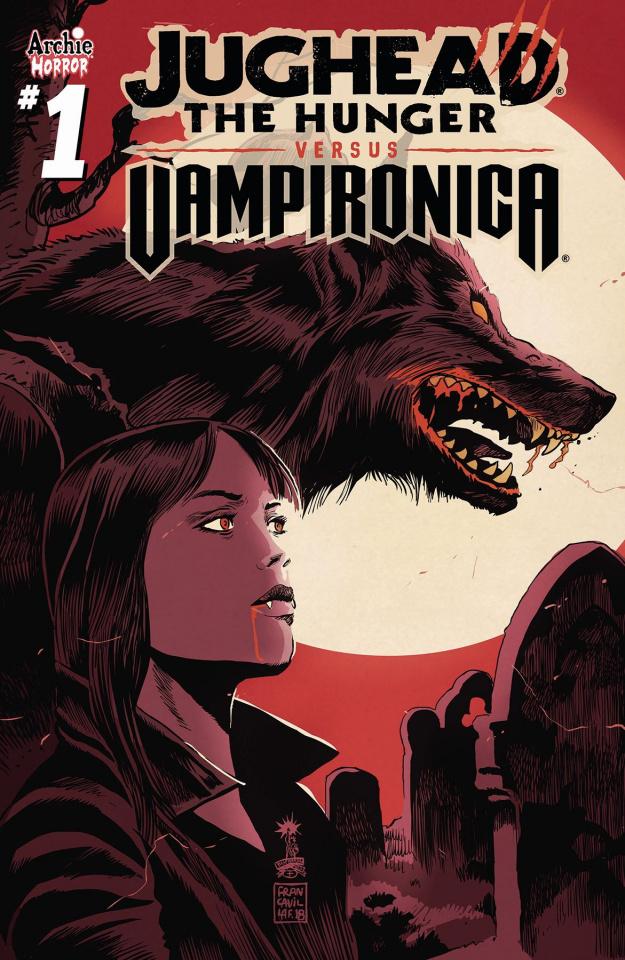 Jughead: The Hunger vs. Vampironica #1 (Francavilla Cover)
