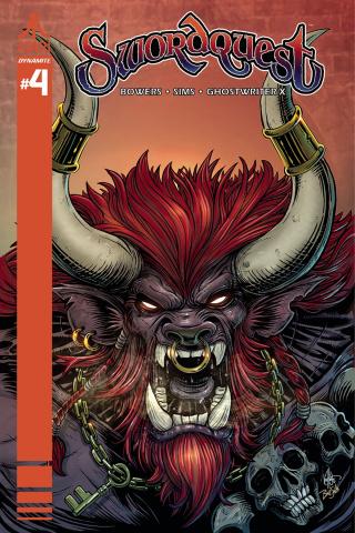 Swordquest #4 (Haesar Cover)