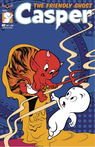 Casper, The Friendly Ghost #2 (Homage Jourdan Cover)