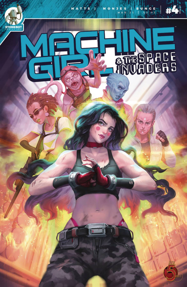 Machine Girl & The Space Invaders #4