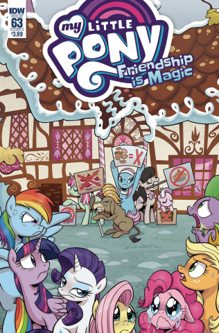 My Little Pony: Friendship Is Magic #63 (Hickey Cover)