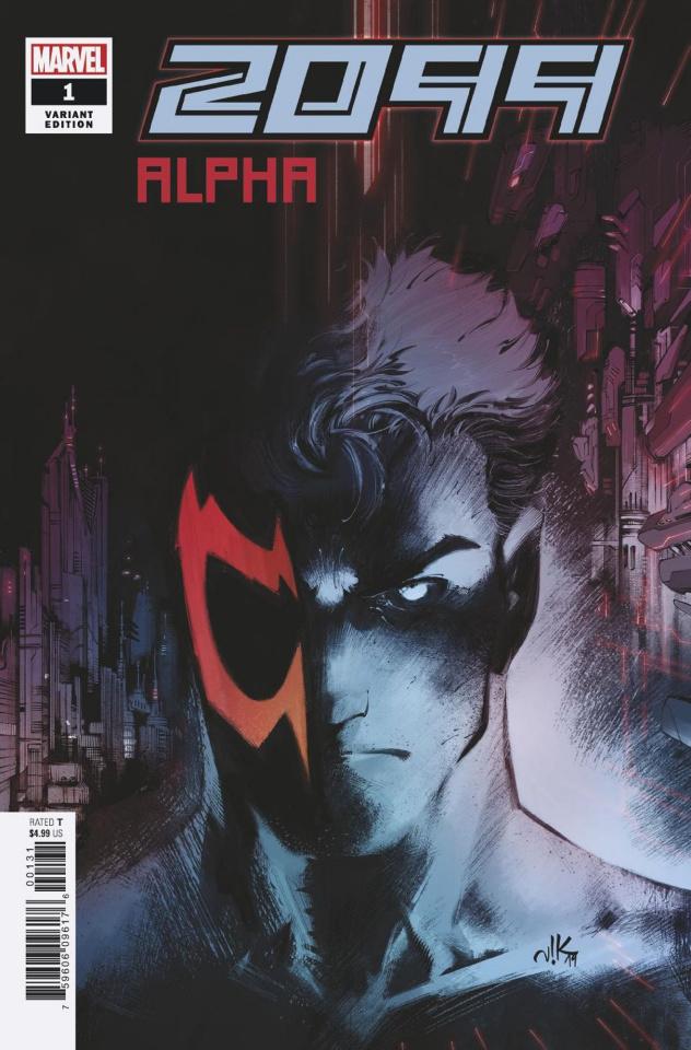 2099 Alpha #1 (Bogdanovic Cover)
