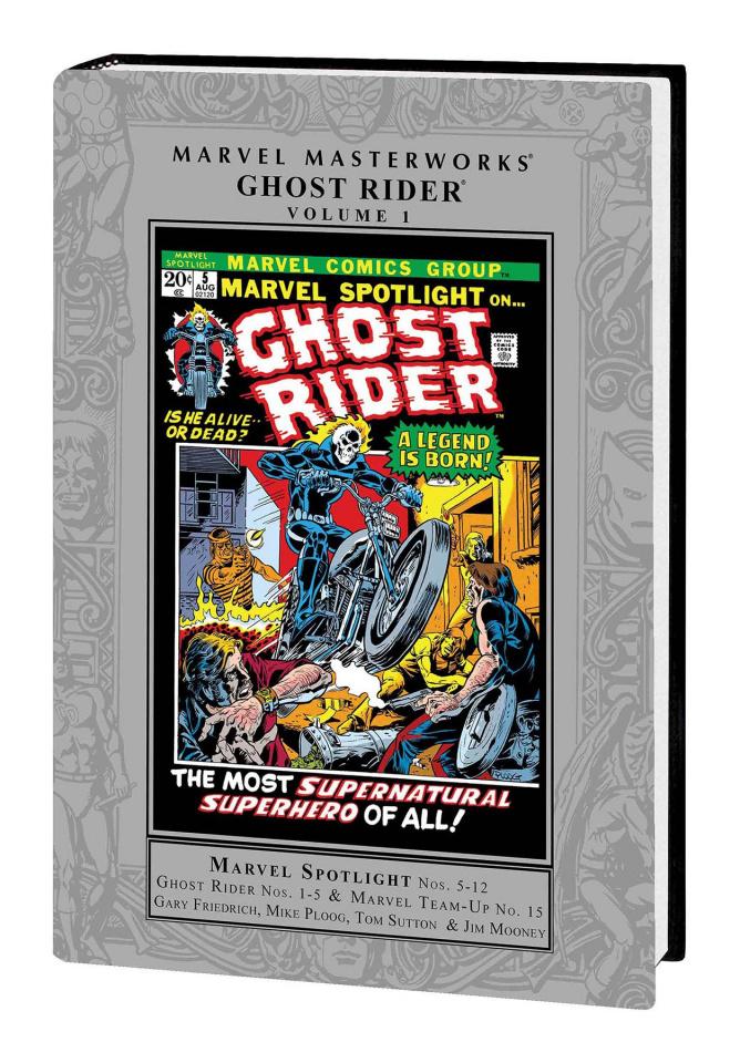 Ghost Rider Vol. 1 (Marvel Masterworks)