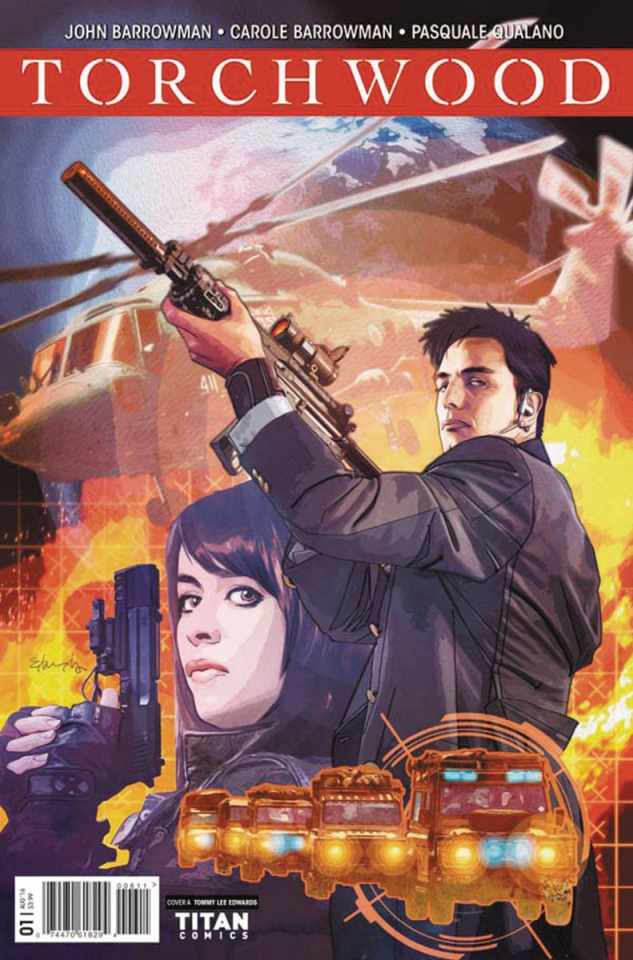 Torchwood #1 (Edwards Cover)