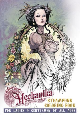 Lady Mechanika: Steampunk Coloring Book
