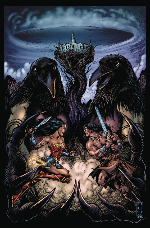 Wonder Woman / Conan #4