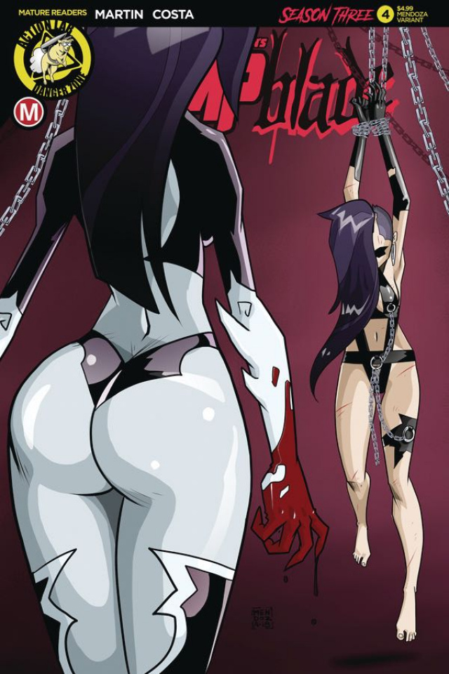Vampblade, Season Three #4 (Mendoza Cover)