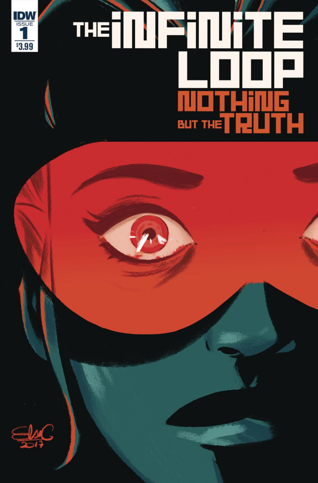 The Infinite Loop: Nothing But the Truth #1 (Charreti Cover)