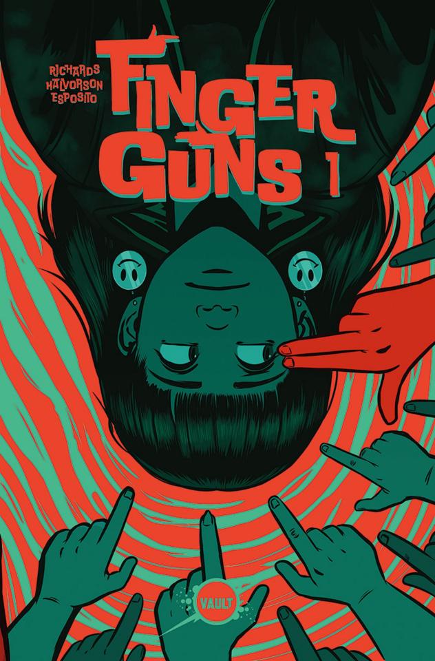 Finger Guns #1 (Flip Cover)