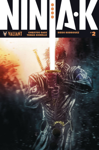 Ninja-K #2 (50 Copy Icon Templesmith Cover)