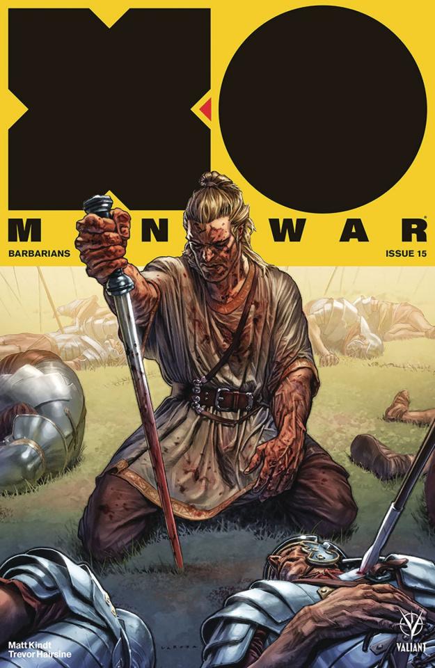 X-O Manowar #15 (Larosa Cover)