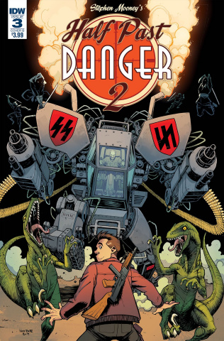 Half Past Danger II: Dead to Reichs #3 (Roche Cover)