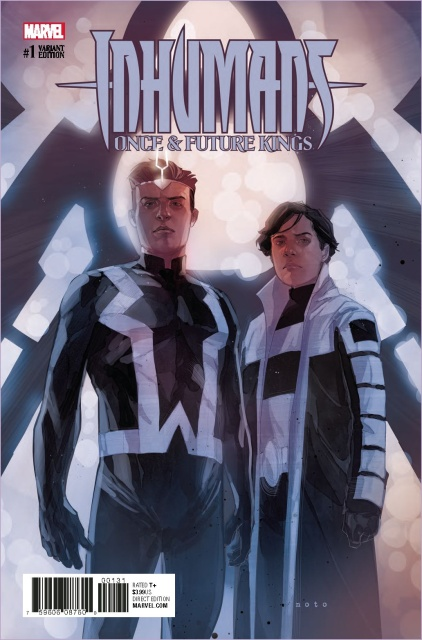 Inhumans: Once & Future Kings #1 (Noto Character Cover)