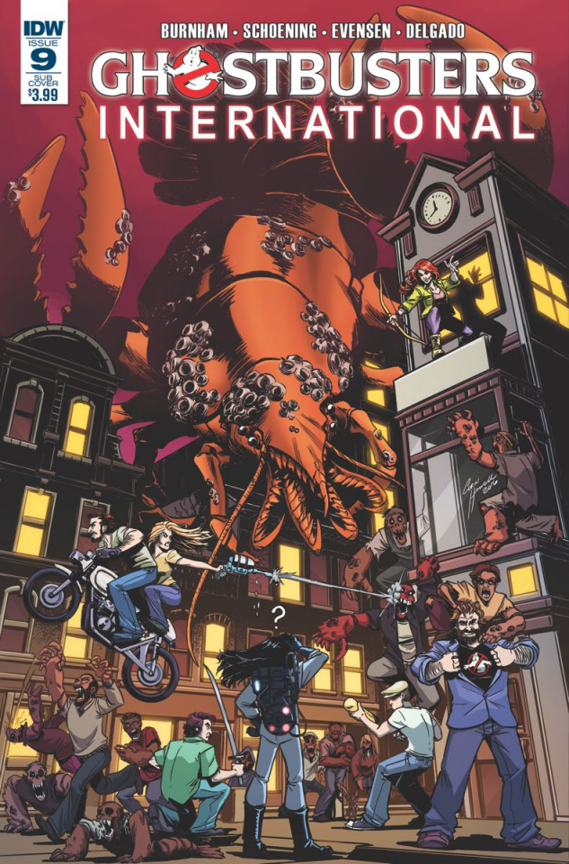 Ghostbusters International #9 (Subscription Cover)