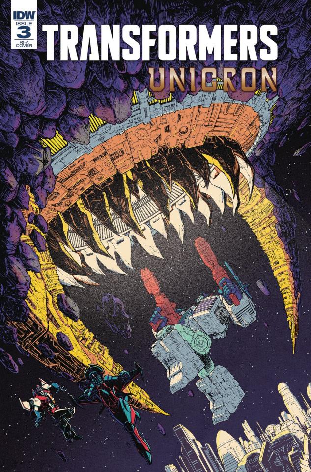 The Transformers: Unicron #3 (10 Copy Roche Cover)