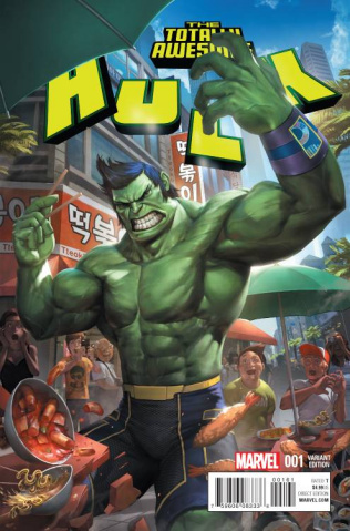 Totally Awesome Hulk #1 (Cheol Cover)