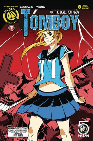 Tomboy #7 (Stanley Cover)