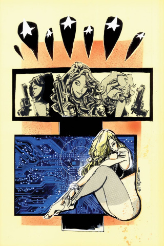 Charlie's Angels vs. The Bionic Woman #1 (30 Copy Mahfood Virgin Cover)