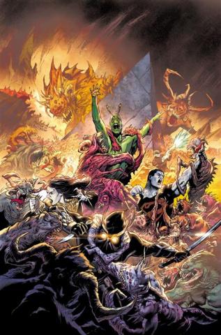Suicide Squad #8 (Eduardo Pansica Cover)