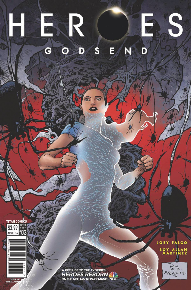 Heroes: Godsend #3 (Martinez Cover)