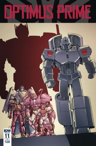 Optimus Prime #11 (Coller Cover)