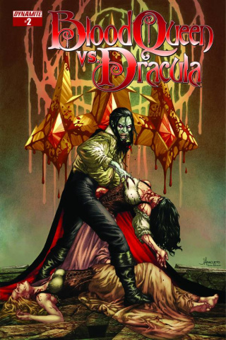 Blood Queen vs. Dracula #2 (Anacleto Cover)