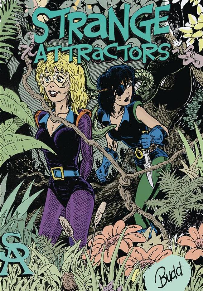 Strange Attractors #6 (Budd Root Cover)
