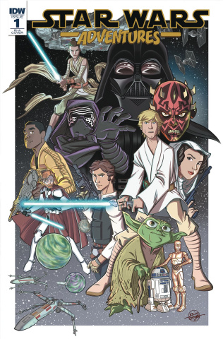 Star Wars Adventures #1 (10 Copy Cover)