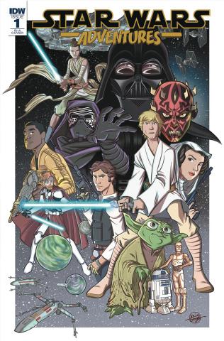 Star Wars Adventures #1 (10 Copy Cover)
