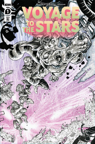 Voyage to the Stars #1 (10 Copy Williams II Cover)