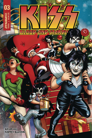 KISS: Blood and Stardust #3 (Sanapo Cover)