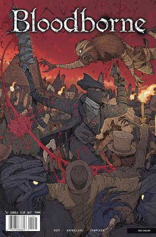 Bloodborne #1 (Araujo Cover)