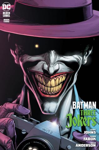 Batman: Three Jokers #3 (Premium Killing Joke Hawaiian Shirt & Camera Cover)