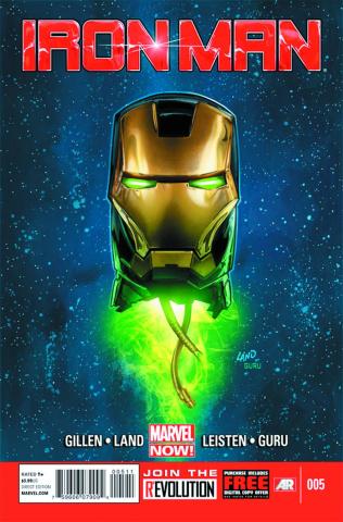 Iron Man #5 (2nd Printing)