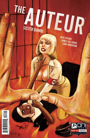The Auteur: Sister Bambi #1 (10 Copy Rugg Cover)