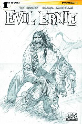 Evil Ernie #3 (20 Copy Syaf B&W Cover)