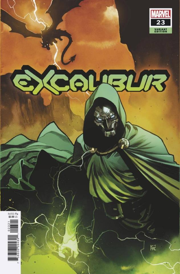 Excalibur #23 (Ruan Cover)