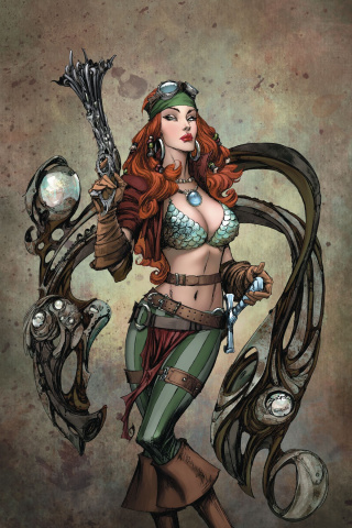 Legenderry: Red Sonja #1 (20 Copy Virgin Cover)