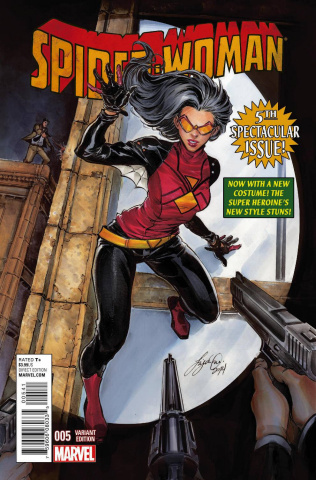 Spider-Woman #5 (Oum Cover)