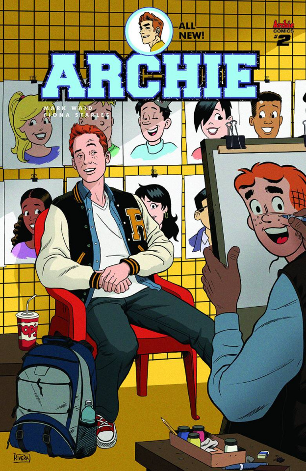 Archie #2 (Paolo Rivera Cover)