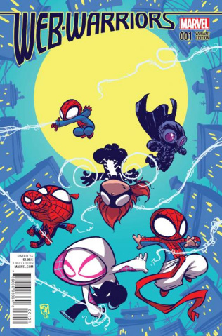 Web Warriors #1 (Young Cover)