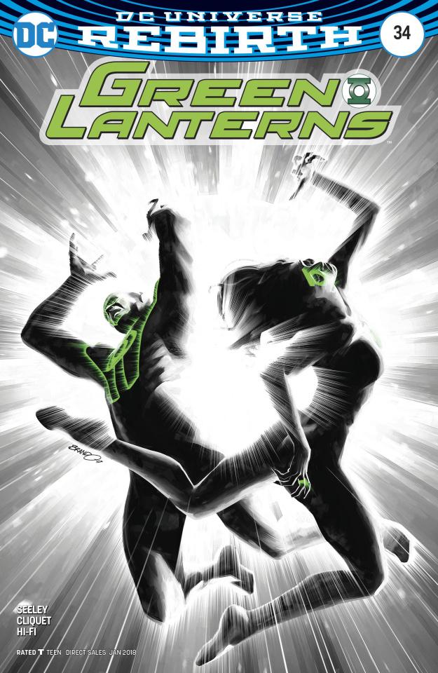 Green Lanterns #34 (Variant Cover)