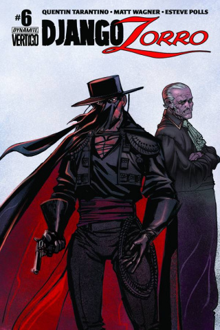 Django / Zorro #6 (Subscription Cover)