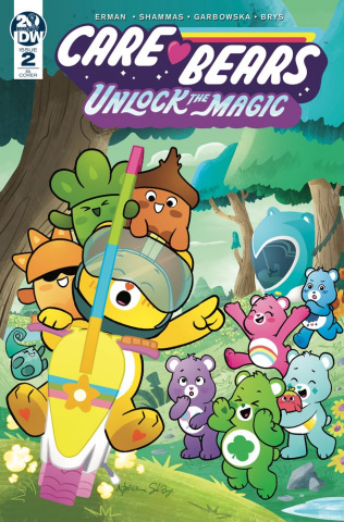 Care Bears: Unlock the Magic #2 (10 Copy Pena Cover)