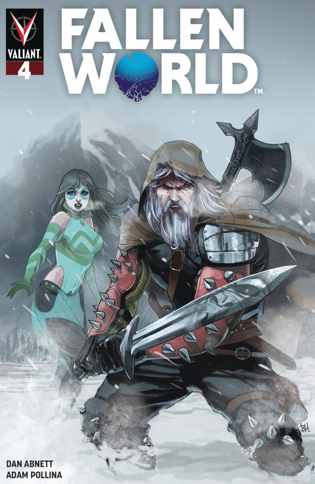 Fallen World #4 (Harvey Cover)