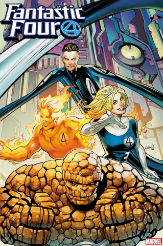 Fantastic Four #16 (Land 2099 Cover)