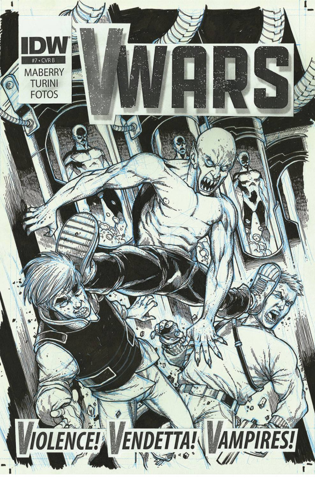 V-Wars #7 (10 Copy Cover)