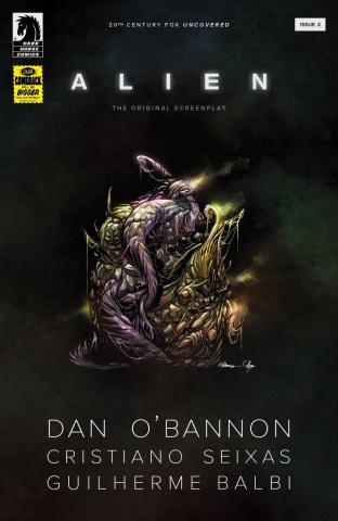 Alien: The Original Screenplay #2 (Balbi Cover)